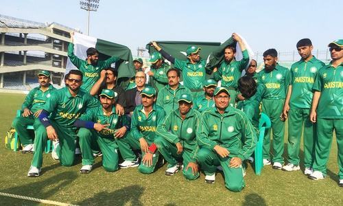 Pakistan qualifies for blind World T20 Championship semifinal