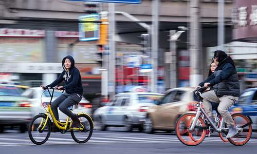 Pedal power revival in China as bike-share apps race for glory