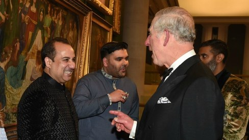 Rahat Fateh Ali Khan appointed ambassador of British charity by Prince Charles