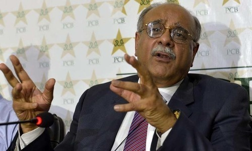 Sethi briefs intl cricketers on Lahore security arrangements for PSL final
