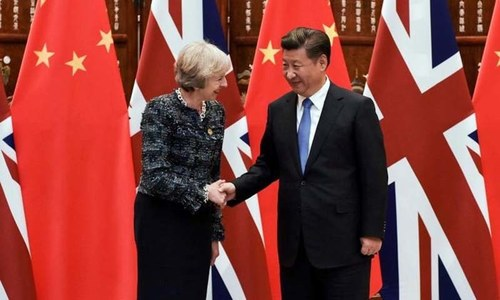 China invites Britain to attend new Silk Road summit