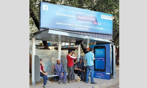 Digital OOH campaign of Facebook Flex launched
