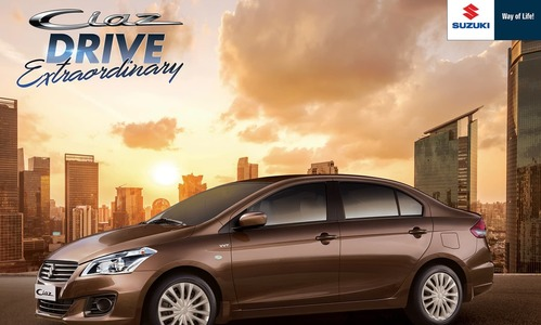 Luxury 1.4L Suzuki Ciaz launched in Pakistan