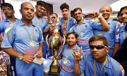 BLIND T20 winning team