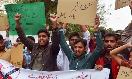 At Pakistani universities, fear rules supreme on Valentine's Day