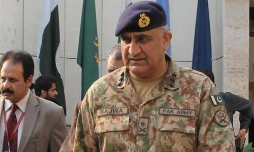Image result for Pakistan doesn't allow its soil to be used against any country: COAS