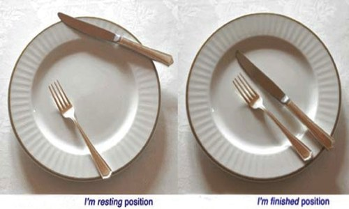 Know your table manners