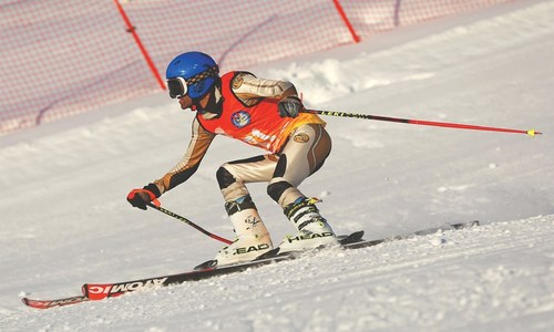 SKIING: THE RETURN OF MALAM JABBA