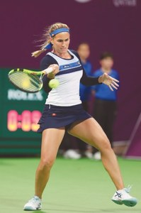 Pliskova, Wozniacki in Qatar final after longest day