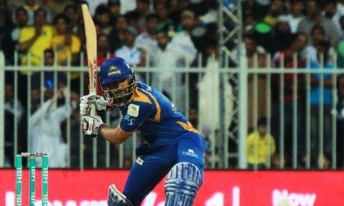 Karachi Kings off to a steady start against Peshawar Zalmi