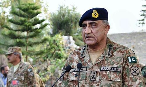 Pakistan, Afghanistan will fight terrorism 'together': army chief