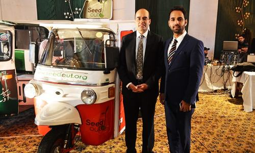Uber provides 50 rickshaws to breadwinners of low income families