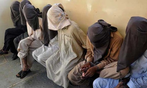 Security forces sweep Rawalpindi, claim arresting 40 people