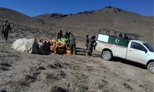 IED cache recovered in Balochistan's Loralai district