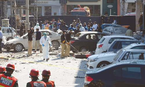 Lahore hit by second explosion in 10 days