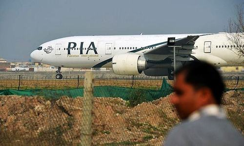 Man seized from PIA plane in UK appears in court