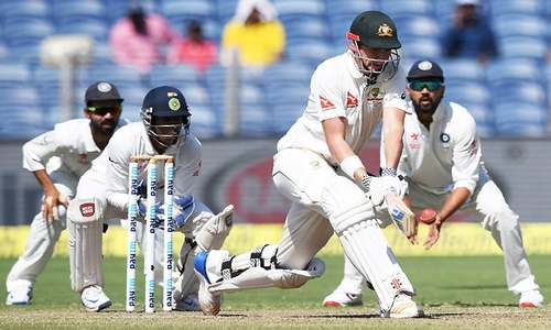 Australia's O'Keefe, Smith flatten India in 1st Test
