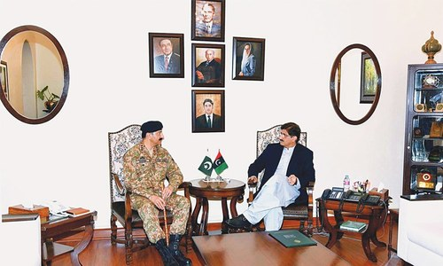 CM, corps commander agree to intensify crackdown against militants, drug mafia