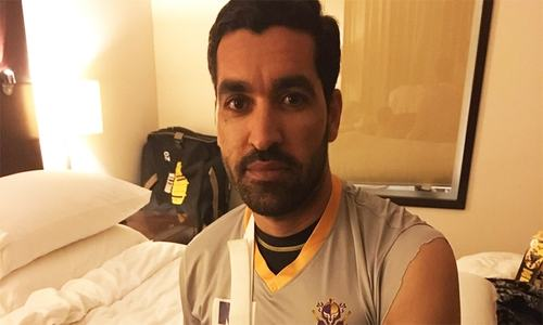 Quetta Gladiators' Umar Gul ruled out of PSL after forearm fracture