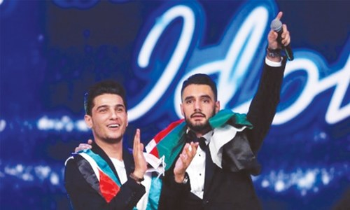 Bethlehem fetes Palestinian Arab Idol singing hero