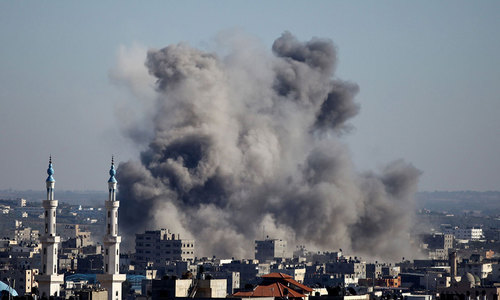 Israeli planes hit Gaza after rocket attack