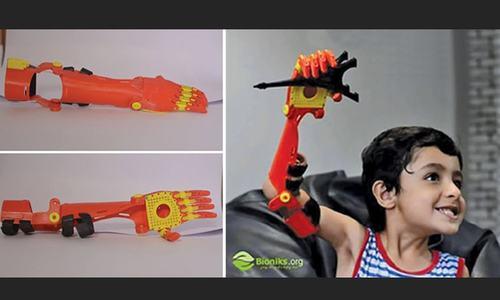 Creating bionic superheroes