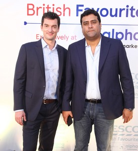 (From L to R): Jared Lebel, Head of New Market Development, Tesco; Adnan Hamid, CEO, Limestone.