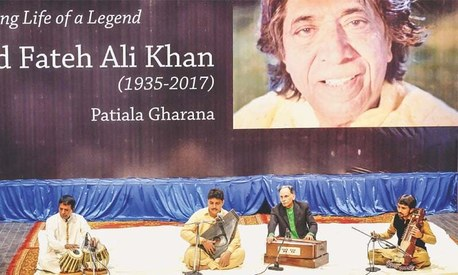 Maestro Ustad Fateh Ali Khan remembered by musical fraternity