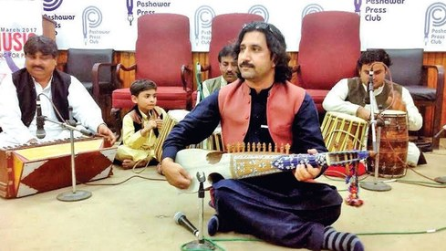 Singers, actors in KP demand fair treatment and security from government