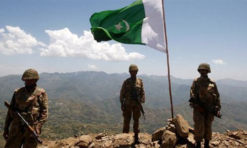 Five soldiers slain in militant attack along Pak-Afghan border