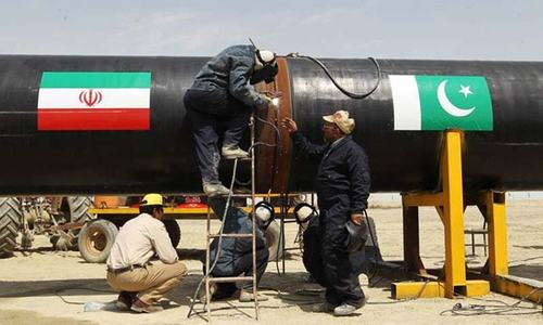 'Sanctions hindering Iran-Pak gas pipeline'