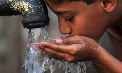 '84pc of population lacks access to safe drinking water'