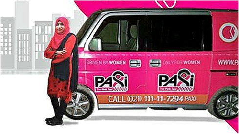 These women-exclusive taxis are launching in Karachi today