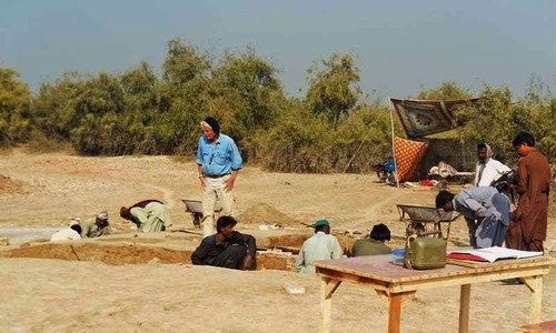 French team uncovers mysteries of Indus civilisation's 'industrial hub'