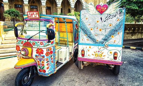 The rise of  the rickshaw
