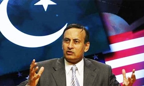 Ready to give statement to commission, says Hussain Haqqani