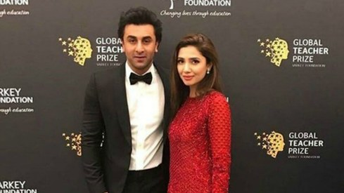 Mahira Khan pays tribute to her teachers at Global Teacher Prize