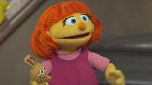 Meet Julia, Sesame Street's first autistic Muppet