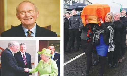 IRA man turned peacemaker McGuinness dies