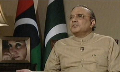 Haqqani did not have authority to issue visas, says Zardari
