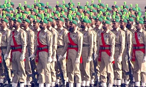 Military parade in capital marks Pakistan Day celebrations