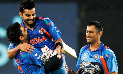 India's contracted players get double raise