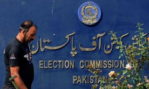 ECP angry at PTI 'delaying tactics' in foreign funding case