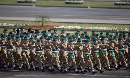 In pictures: The 77th Pakistan Day parade