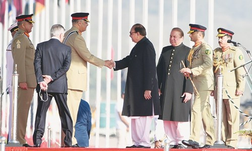 Pakistan, India renew desire for peace