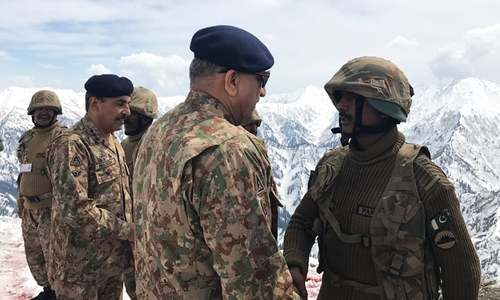 Indian claims of militant presence along LOC aimed at spreading unrest in AJK, says army chief