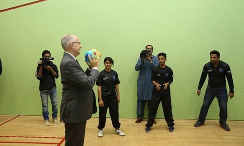 Squash Classroom initiative launched in Pakistan
