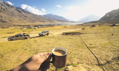 TRAVEL: Travels with chai