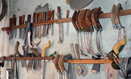 The dying art of making handmade farming tools