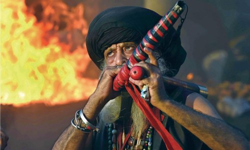 Mela Chiraghan begins Traditional activities set devotees afire